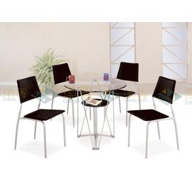 ~台中承鑫傢俱~~CM980~1 丹尼3尺圓玻璃餐桌
