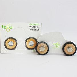 ~美國  新品~美國~tegu~磁性積木~輪子四顆一組~ 聖誕 兒童節