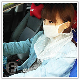 【Q禮品】A2498 蕾絲防曬面罩/透氣蕾絲防曬護頸口罩/紫外線護頸面罩/騎士面罩/機車口罩/防風面罩