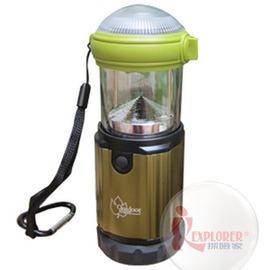 探險家戶外用品㊣21768 OutdoorBase 手電筒+營燈兩用 210流明 暖色黃光LED露營燈帳棚燈帳篷