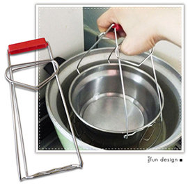 【Q禮品】A2535 提式防燙取盤夾/廚房不銹鋼防燙夾/取碗夾/盤子夾/提碗器/夾碗器/夾盤夾/防燙鍋夾