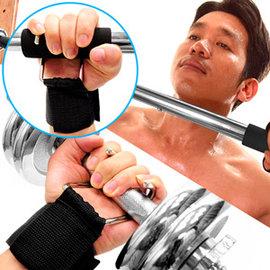 懸掛式護腕助力帶C109-5108輔助拉單槓啞鈴掛勾舉重力重量訓練舉重鉤助力鈎拉力鈎拉背助力鉤倍力帶拉力帶健身運動用品TRX-1