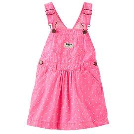 吊帶裙 裙子 Carter s  oshkosh│ 粉紅點點吊帶裙 434B506