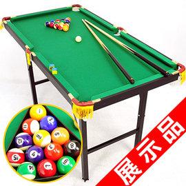 120X65折疊型撞球台(內含完整配件)(展示品)C167-Y1202--Z撞球桌.撞球桿.遊戲台.遊戲桌.遊戲機.球類運動用品.推薦.哪裡買