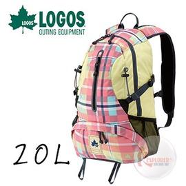 探險家戶外用品㊣NO.88250085 日本品牌LOGOS CADVEL-Design愛麗絲格紋背包20L 夢幻包雙肩背包登山遠足郊遊