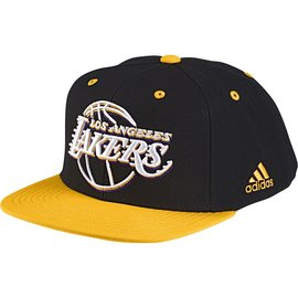 Adidas~NBA系列 洛杉磯 湖人隊 刺繡 運動帽 (S24780)