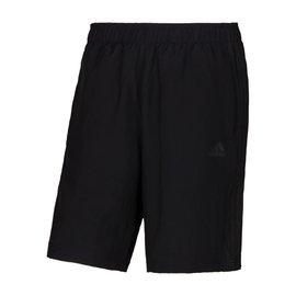 Adidas~climacool 透氣 排汗 慢跑 路跑 運動 平織短褲-黑 (S17887)