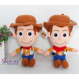 迪士尼胡迪娃娃^~玩具總動員^~胡迪吊飾玩偶