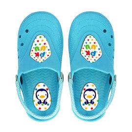 PUKU藍色企鵝兒童園丁鞋-藍色(P40503)