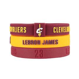 NBA官方  矽膠手環~克里夫蘭騎士 Cleveland Cavaliers LeBron
