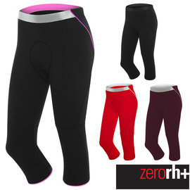 ZeroRH 義大利FUSION 自行車七分褲 女  ~桃紅、紫色、紅色、黑色~ ECD0