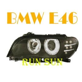~○RUN SUN 車燈 車材○~  BMW 寶馬 02 03 04 E46 3系列 2D