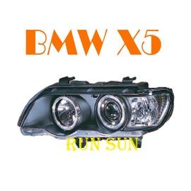 ~○RUN SUN 車燈 車材○~  BMW 寶馬 98 99 00 01 02 X5 E