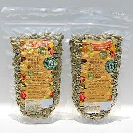 100^%~自然植栽~天然熟南瓜子仁^(250g^)X2包,低溫輕焙,SGS黃麴毒素檢驗,