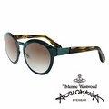 Vivienne Westwood 英國Anglomania太陽眼鏡~金屬 ~ 綠 AN8
