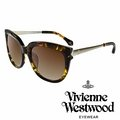 Vivienne Westwood 英國薇薇安魏斯伍德 土星銀邊太陽眼鏡^(琥珀黃^)VW
