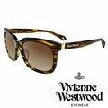 Vivienne Westwood 英國薇薇安魏斯伍德LOGO 太陽眼鏡 琥珀黃 VW88