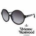 Vivienne Westwood 英國薇薇安魏斯伍德潮圓形復古 太陽眼鏡 灰 VW888