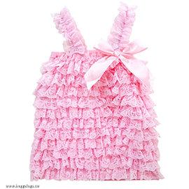 ~MerryGoAround~ Cutie Bella Lace: 蕾絲荷葉邊 上衣: 粉