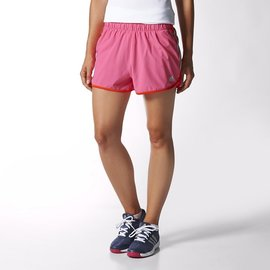 Adidas 女 CLIMALITE 吸溼排汗 慢跑 路跑 運動短褲 (M68361)
