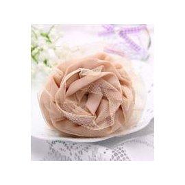 金元山珠寶銀樓~品名:  女孩 ~氣質名媛粉玫瑰~ 大抓夾~~3入~