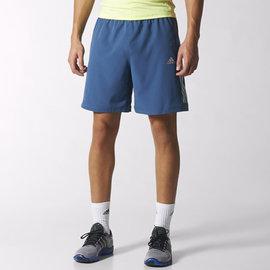 Adidas~climacool 透氣 排汗 慢跑 路跑 運動 平織短褲-藍 (S20293)