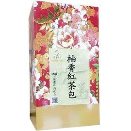 柚香紅茶茶包^~^~ 2.5gx10包,採用自然農法栽培無農藥~
