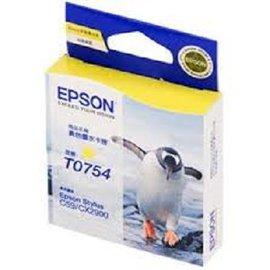 T075450 EPSON  黃色墨水匣 STYLUS C59 C59mini CX290