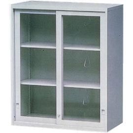 ~逸硯~AK~3U玻璃拉門鐵櫃╱灰白色╱理想櫃