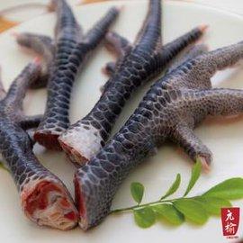 ~ 安心吃好物~有機~無毒~樂活 ~漯底山放山雞 ~ 生鮮雞腳(300g)料理參考:香辣滷