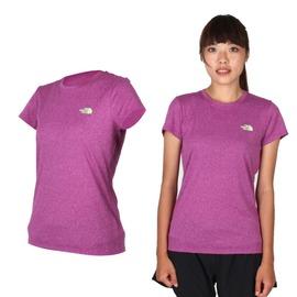 THE NORTH FACE 女短袖T恤(路跑 慢跑 運動 圓領 吸濕排汗【03312054】≡排汗專家≡
