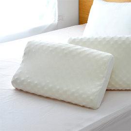 ~晶鑽舒眠~按摩顆粒100^%天然乳膠枕~2入組