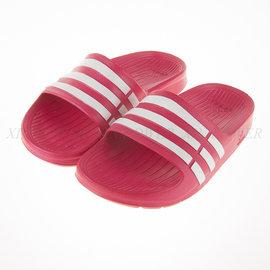 Adidas~Duramo Side 系列兒童運動拖鞋-(淺桃) (D67480)