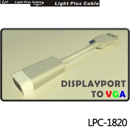LPC~1820  DISPLAYPORT TO VGA 轉接器^(主動式支援Eyefin