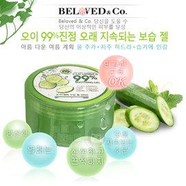 韓國 Beloved  Co 黃瓜99^%鎮靜舒緩長效保濕凝膠^(300ml^)~美麗販售