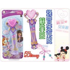 麗嬰兒童玩具館~迪士尼Disney 蘇菲亞.冰雪奇緣艾莎公主-錄音麥克風.一起快樂的唱歌吧~