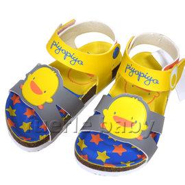 黃色小鴨造型氣墊涼鞋-黃(880271)