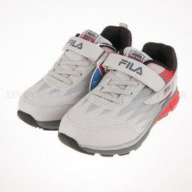 6折出清~FILA 輕量 兒童 舒適 透氣 慢跑鞋 (3-J803P-424)