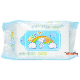 【吉嘉食品】史努比柔濕巾(濕紙巾) 1包100抽39元,另有蒸氣眼罩{4715664931404:1}