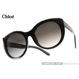 Chloe 太阳眼镜 CL660S 001 (黑) 法式典雅女款复古猫眼 墨镜 # 金橘眼镜