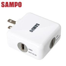 ~e~man~SAMPO聲寶 雙USB 3.1A旅行用充 ^(DQ~U1202UL^)~免
