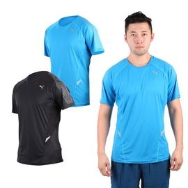 PUMA NightCat 360男短袖T恤(圓領 吸濕排汗 慢跑 路跑 短T【03312136】≡排汗專家≡