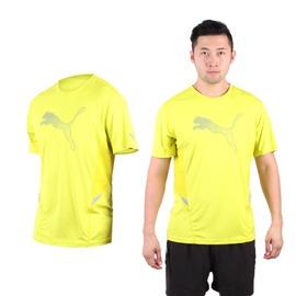 PUMA NightCat 男短袖T恤(圓領 吸濕排汗 慢跑 路跑 短T【03312135】≡排汗專家≡