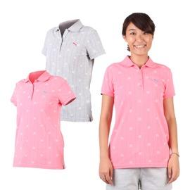 PUMA 女短袖POLO衫(立領 高爾夫【03320712】≡排汗專家≡