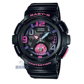 ~錶飾 ~ 卡西歐CASIO Baby~G海灘旅行系列~黑 BGA~190~1BDR 正品