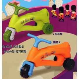 『SL20』【CHING-CHING親親】法國號三輪學步車/助步車(綠、橘)CA-22
