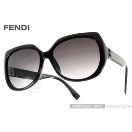 FENDI 太陽眼鏡 FS0047FS D289O  黑  奢華 魅力 款 墨鏡 # 金橘