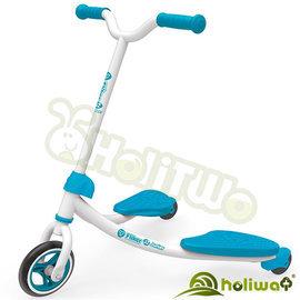 【Holiway】YVolution Fliker J2雙翼搖擺車學習版-藍