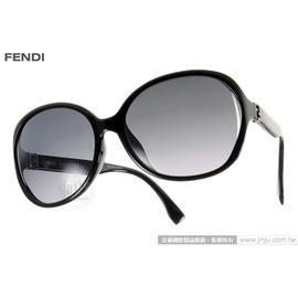 FENDI 太阳眼镜 FS0032FS D28HD (黑) 名品时尚经典简约款 墨镜 # 金橘眼镜