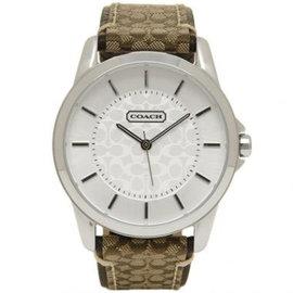 COACH 款LOGO皮帶腕錶 大碼 14601506